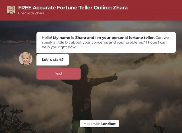 FREE Accurate Fortune Teller Online: Chat with Zhara
